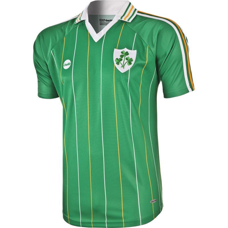 56aa58c6f Home; Ireland Retro Home Jersey. View Full Details