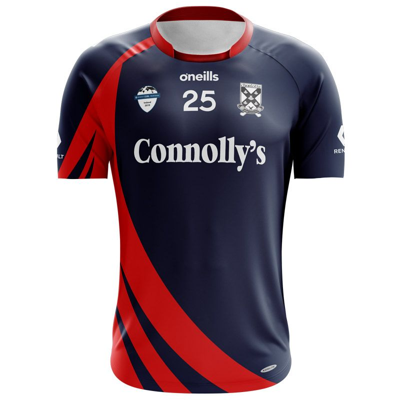 new product d70cb 08294 Charlotte James Connolly's Native-born Men's Gaelic Football GAA World  Games Jersey