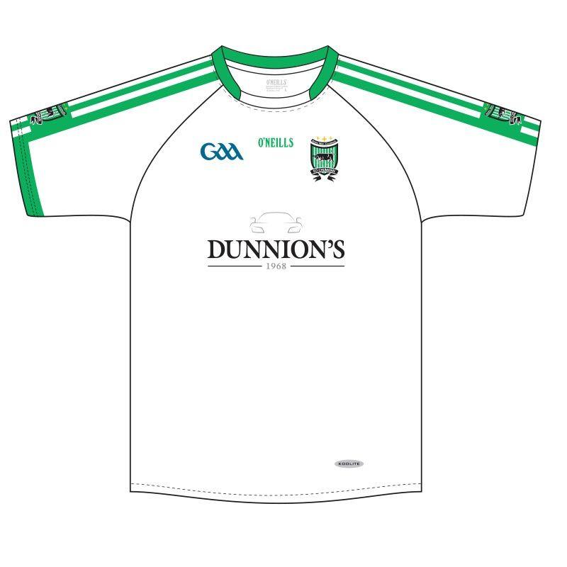 cc3b0248c16 Sean Mac Cumhaill's Dunnion GAA Jersey (White) | oneills.com