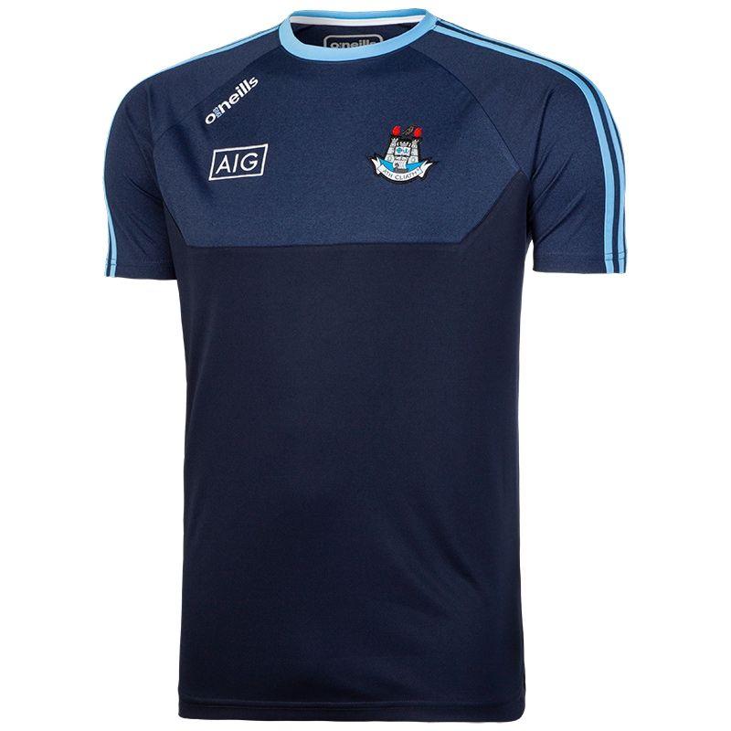 0082ebd220456b Dublin GAA Kasey 3S T-Shirt (Marine Marl Marine Sky White)