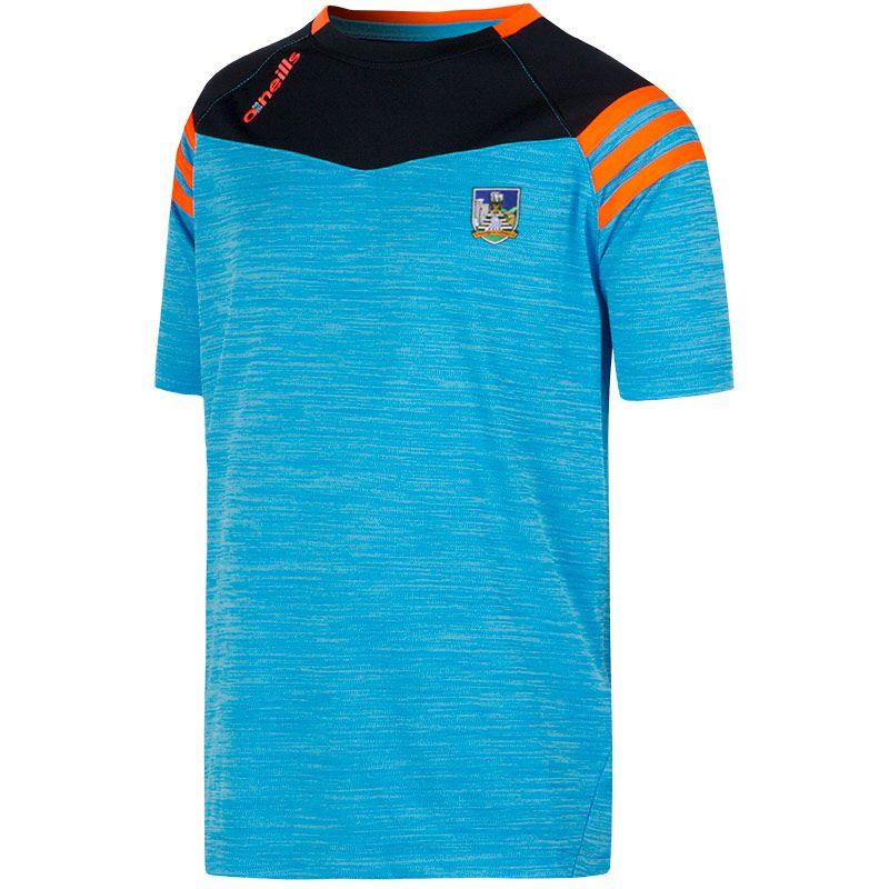 d92f726d Limerick GAA Colorado 3S T-Shirt (Melange Tonal Swedish Blue/Marine/Flo  Orange) (Kids)   oneills.com