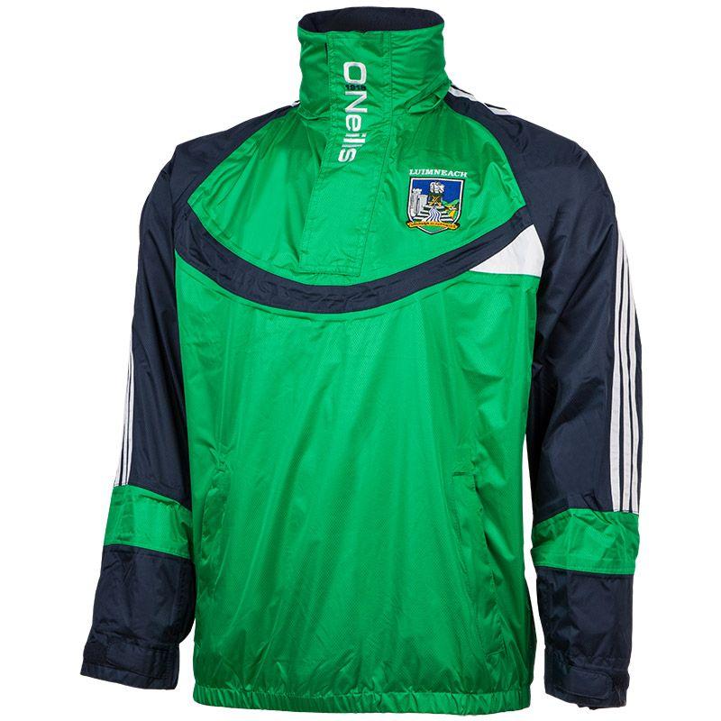 ce7051fda3 Limerick GAA Davin Half Zip Ribstop (Emerald)