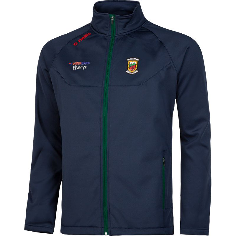 Mayo GAA Solar Soft Shell Jacket (Marine/Bottle/Red