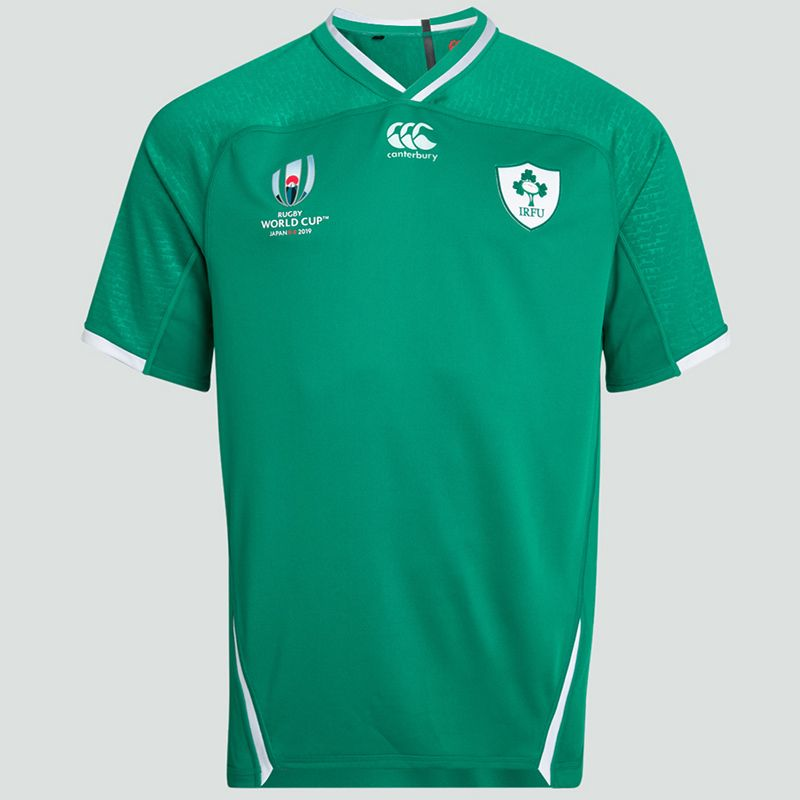 the best attitude ca29b 25c34 Canterbury Ireland IRFU 2019/20 World Cup Home Jersey