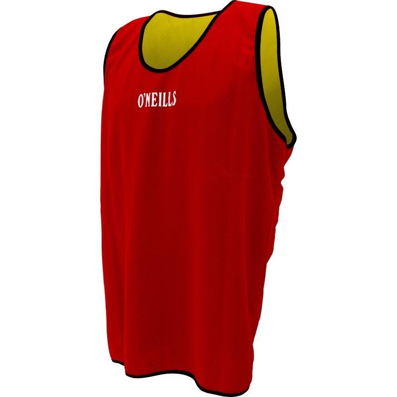 3e7c576f4 Reversible Training Bib (Red/Yellow) | oneills.com