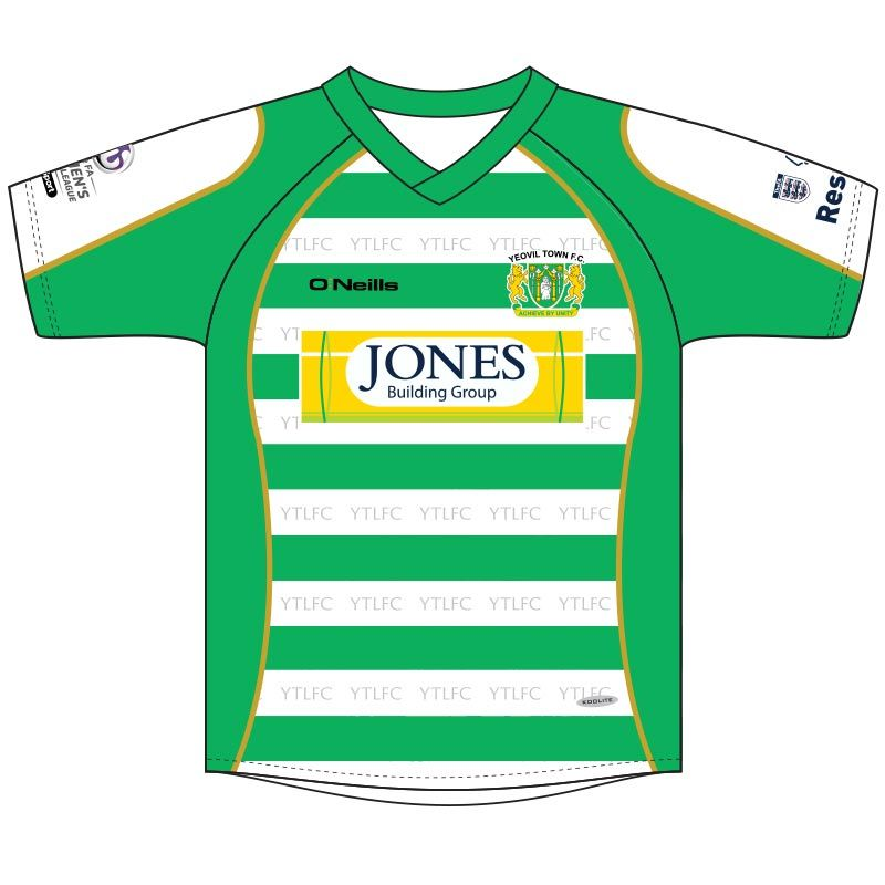 9b3cee5cd56 Yeovil Town Ladies FC Soccer Jersey (Home)