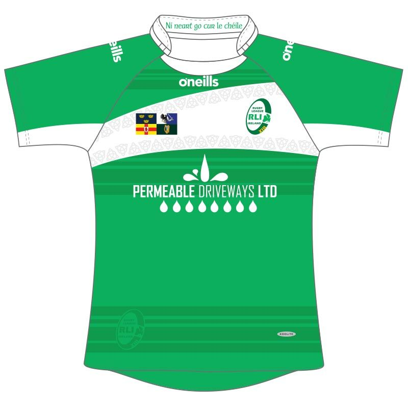 f4bc5399ee6 Rugby League Ireland Jersey (Home) | oneills.com