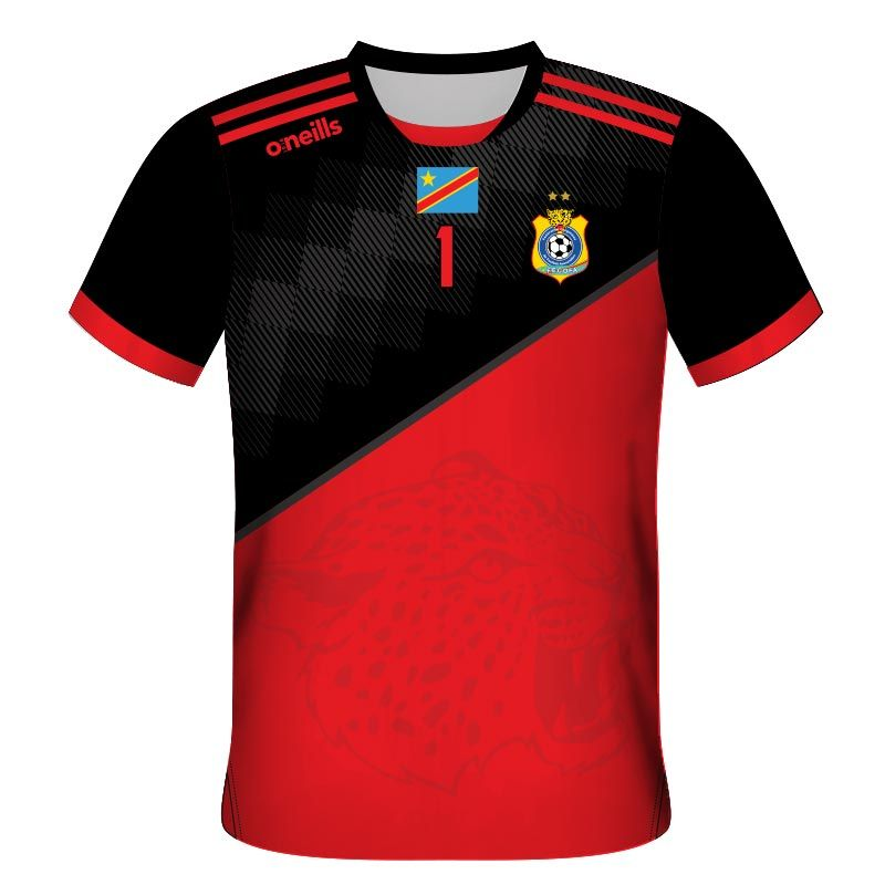 another chance d6976 326e0 Democratic Republic of Congo Home Goalkeeper Soccer Jersey