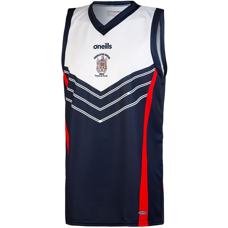 Sharlston Rovers ARLFC Basketball Vest  1d8498bb7ccd