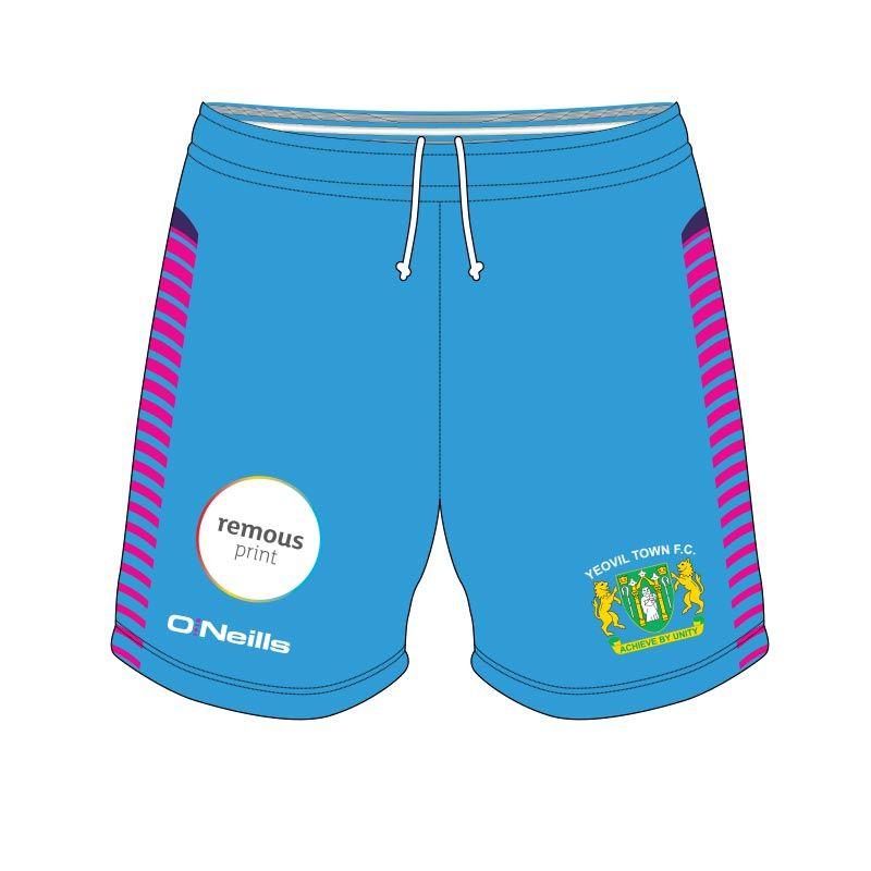 0de265f8a Yeovil Town Ladies FC Goalkeeper Soccer Shorts Kids (Away)   oneills.com
