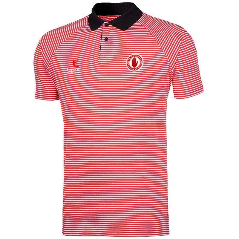 b427f36c Tyrone GAA Rimini Polo Shirt (Red/Black/White) (Kids) | oneills.com -  International
