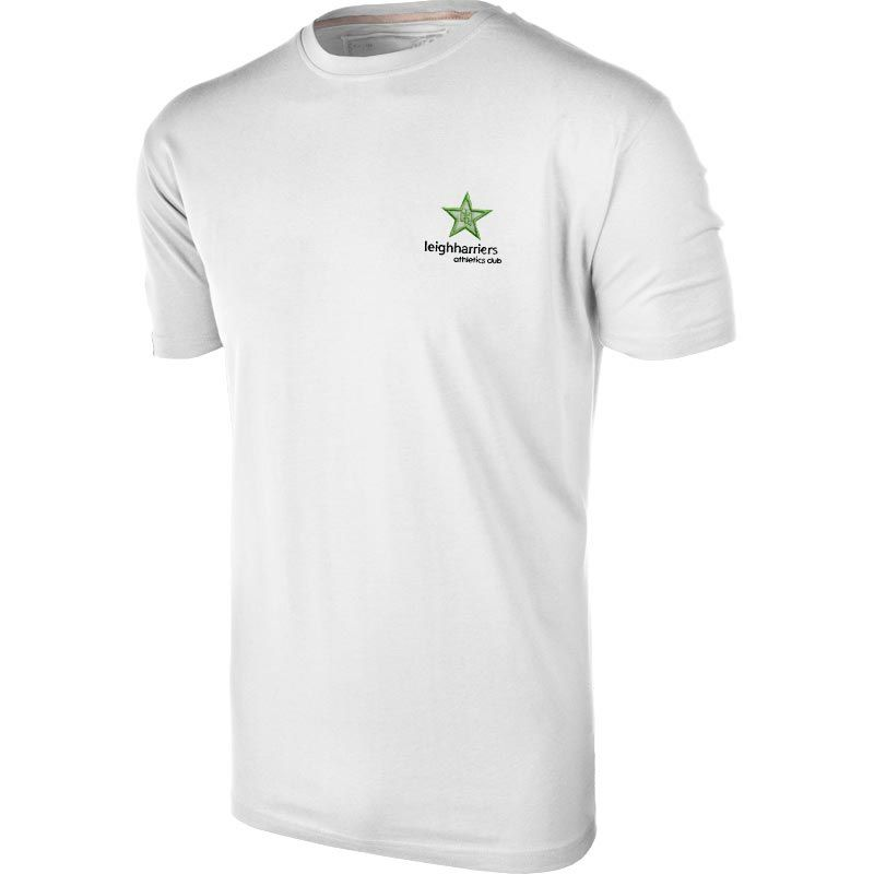 on sale 8772b 9cd06 Leigh Harriers Athletics Club Juniors Basic T-Shirt