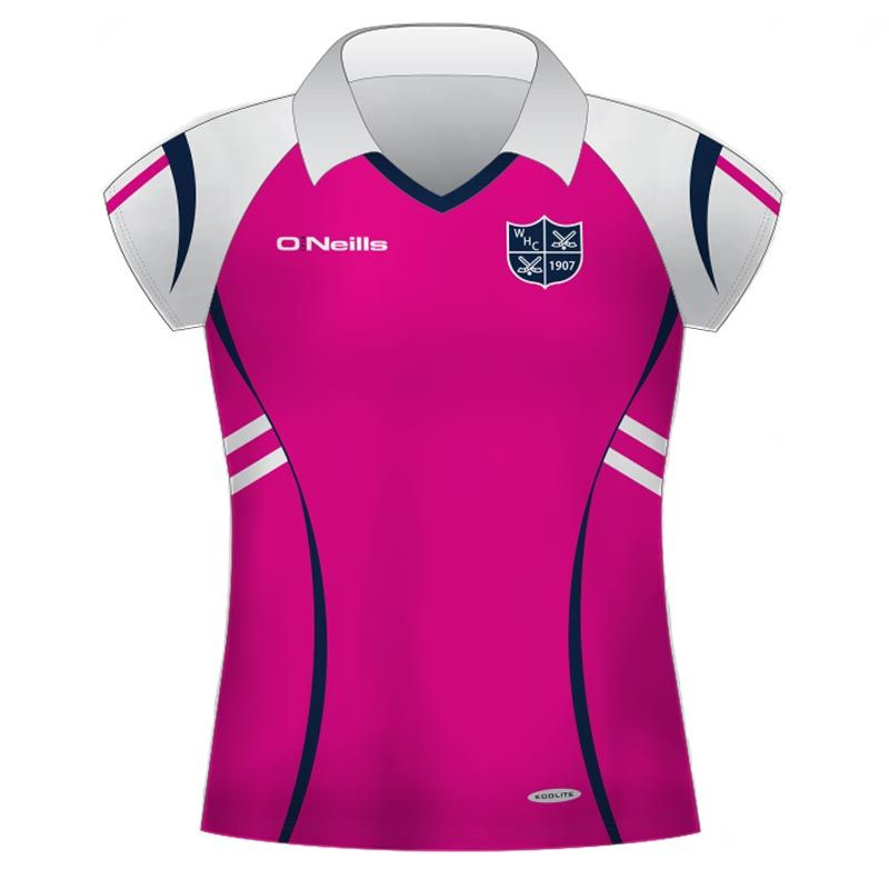 Wigan Hockey Club Women s Hockey Shirt (Pink)  cc531fb96d