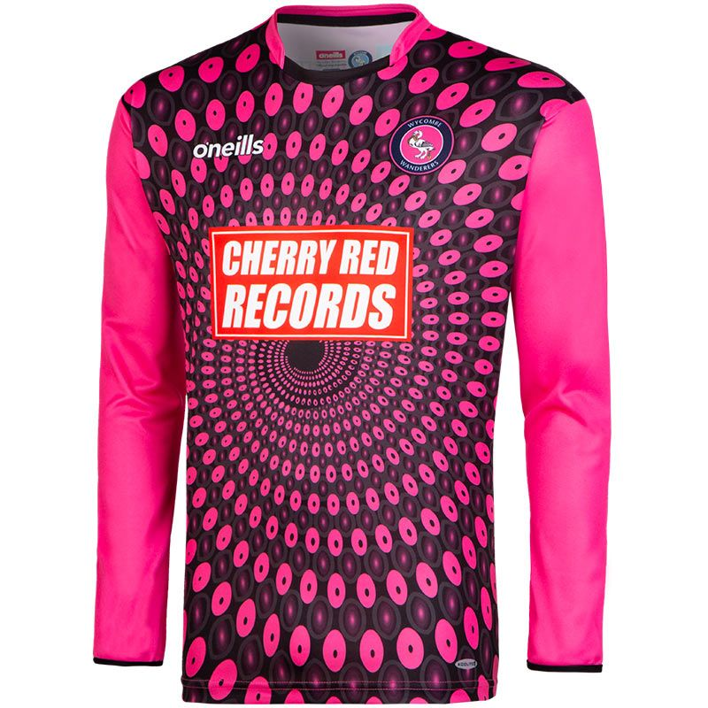 0ada53af7 Wycombe Wanderers FC Replica Goalkeeper Shirt 2018 19 (Black Pink ...