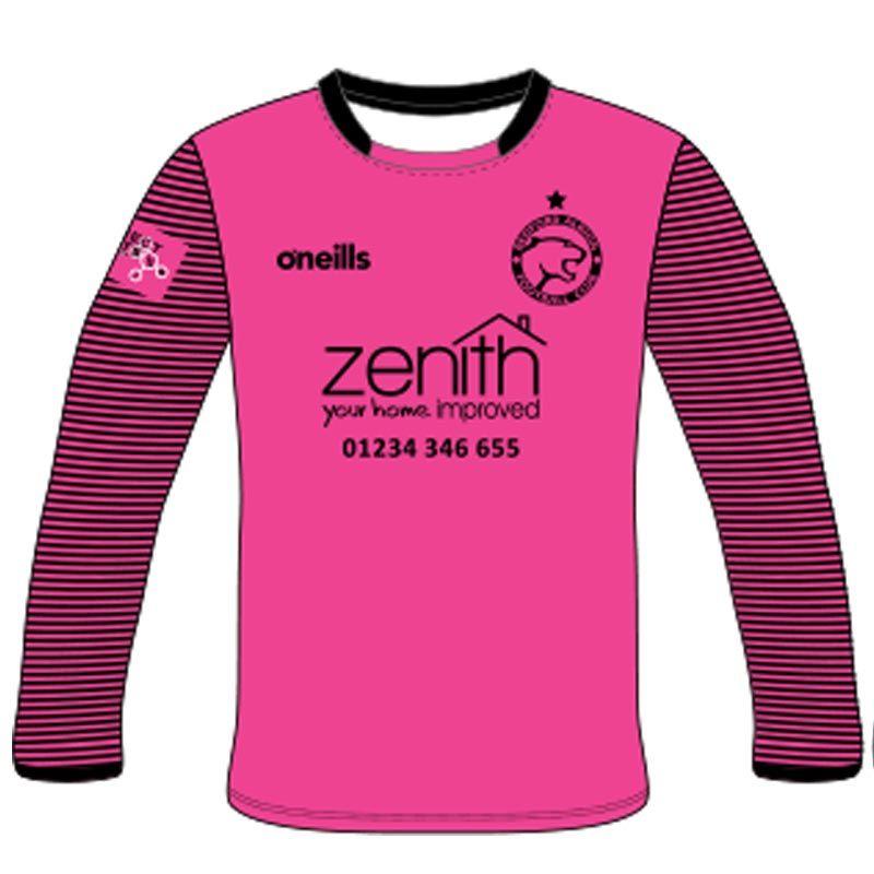 promo code b0e3a f5e83 Bedford Albion FC Soccer Jersey (Kids) (GK Pink)