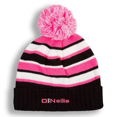 Beacon Bobble Hat (Black Flo Pink White) 0853db4e867