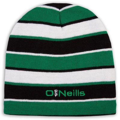 8a9a3ea354d Beacon Beanie Hat (Black Emerald White)