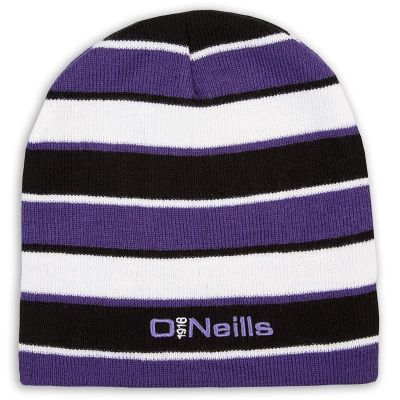 ab4358f5b94ac Beacon Beanie Hat (Black Purple White)
