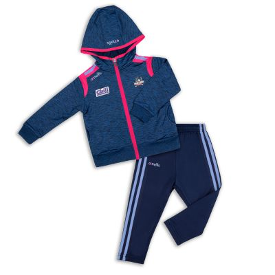 0b17d20aa674b Cork GAA Solar 2S Brushed Infant Fleece Suit (Melange Marine/Marine/Flo Pink