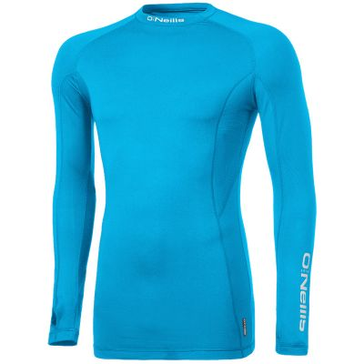 Pro Body Baselayer Long Sleeve Top (Swedish Blue Reflective Silver) 2ad03803d9