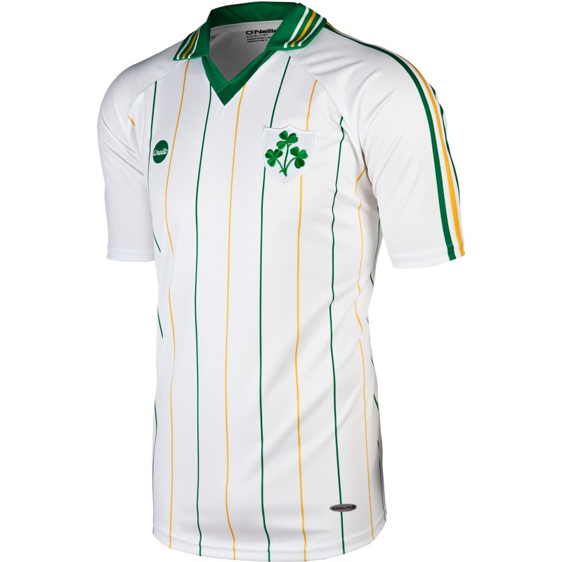 best website 74052 73741 Ireland Retro Away 2-Stripe Jersey