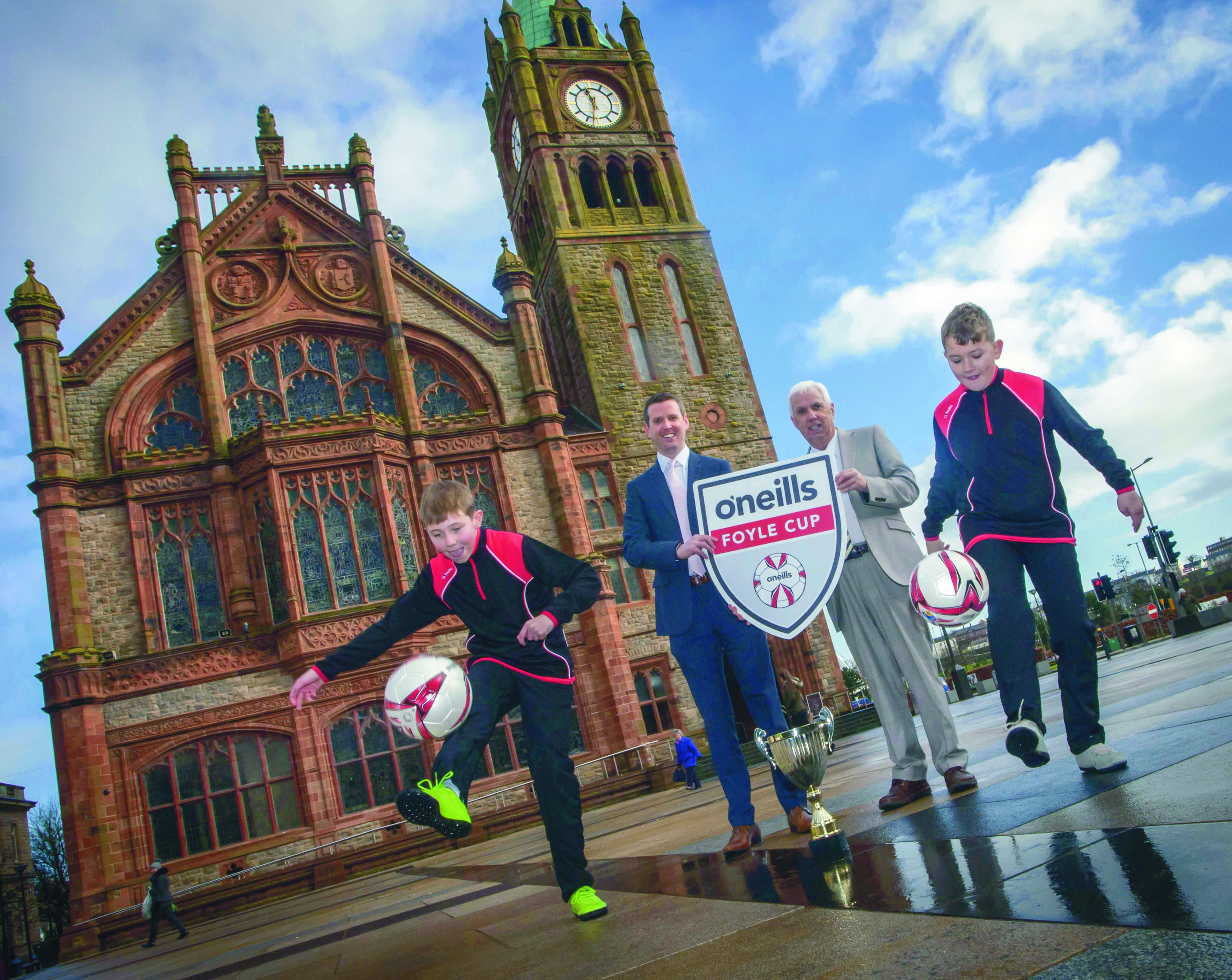 O'Neills Kicks Off Sponsorship of the Foyle Cup