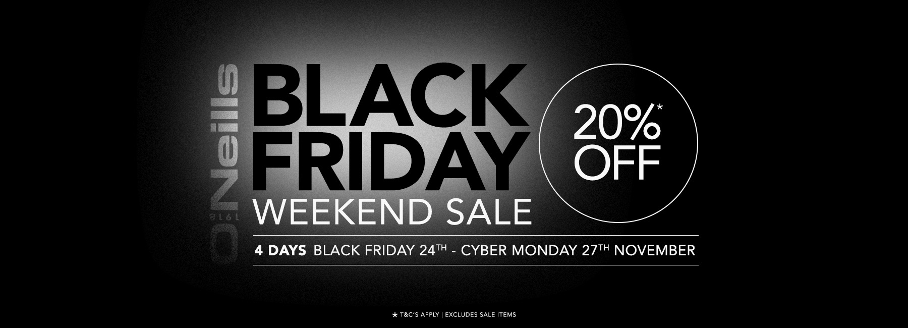 Black Friday | 20% Off