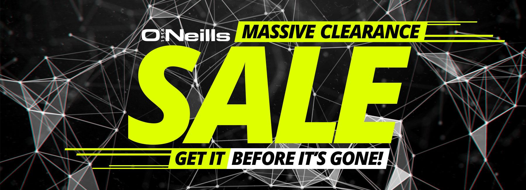 Massive Clearance Sale!