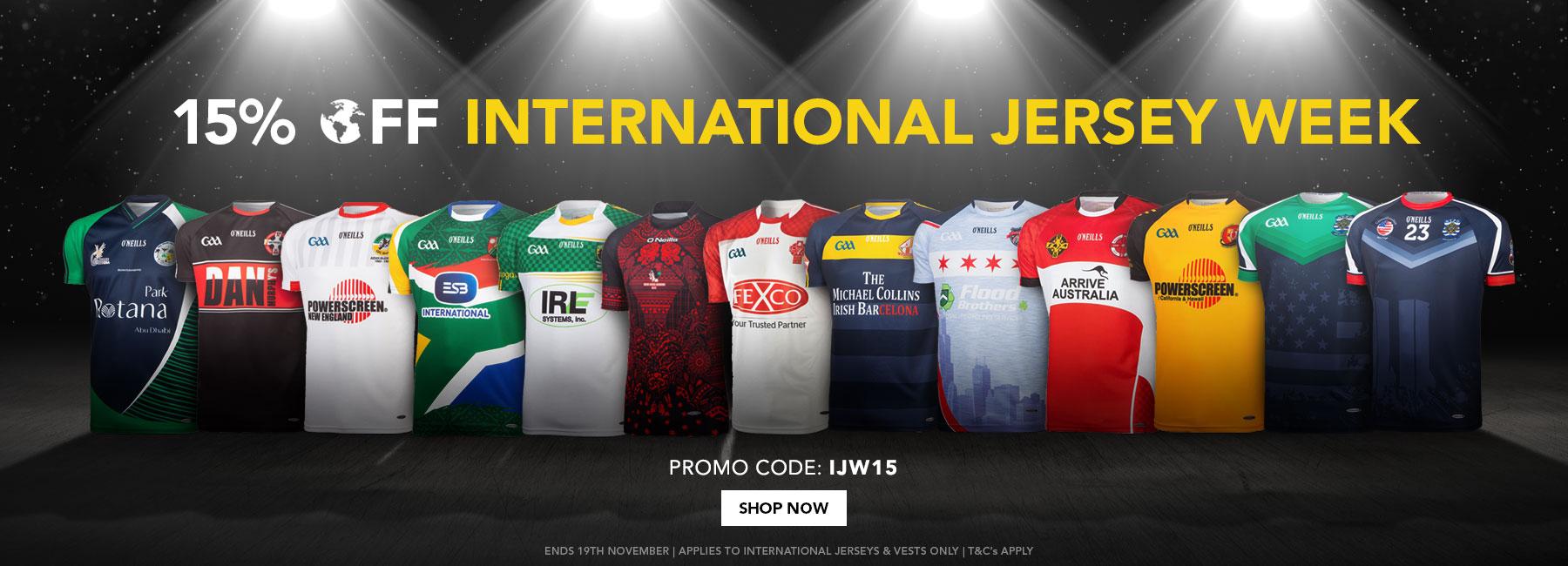 International Jersey Week