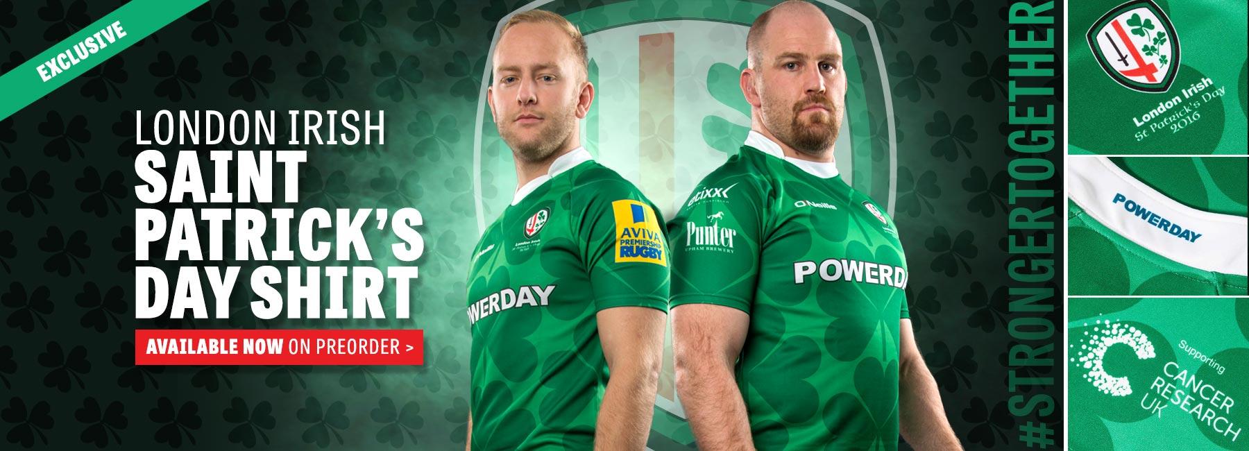 London Irish St Patrick's Day Shirt