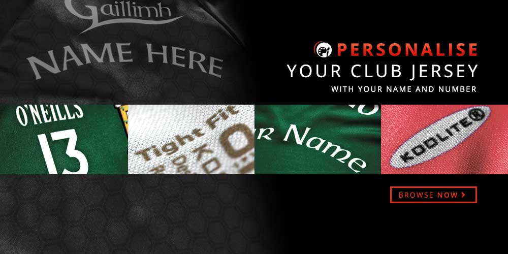Personalise Your Club Jersey