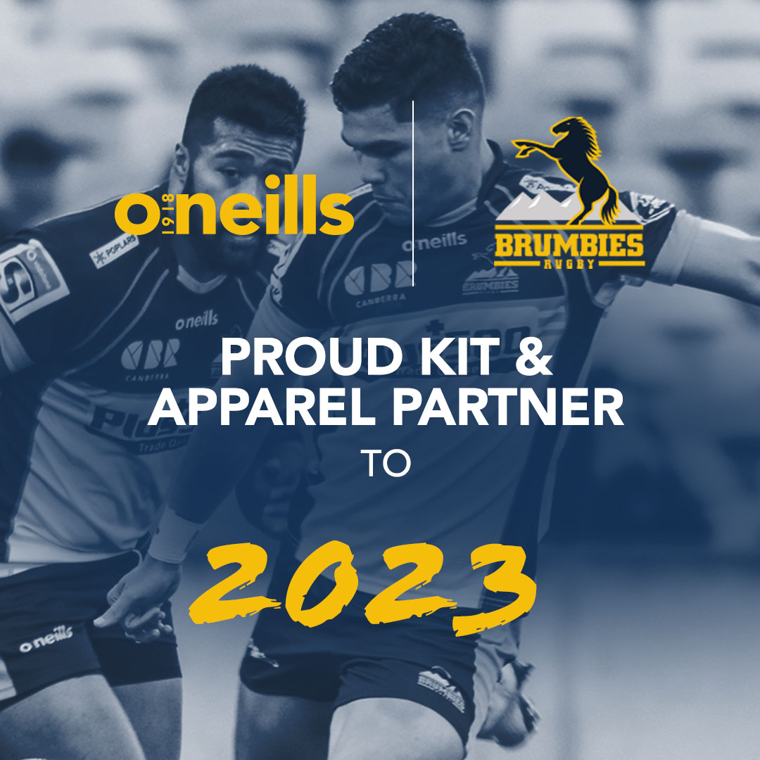 Plus 500 Brumbies and O'Neills extend partnership