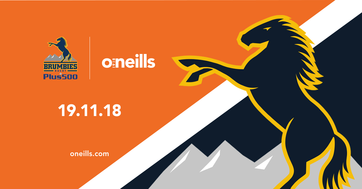 Plus500 Brumbies to Partner with O'Neills