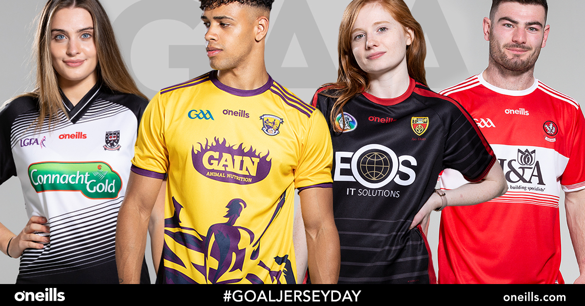 O'Neills GAA Jerseys appearing in unexpected places