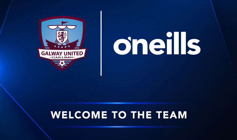 O'Neills sign multi-year deal with Galway United FC