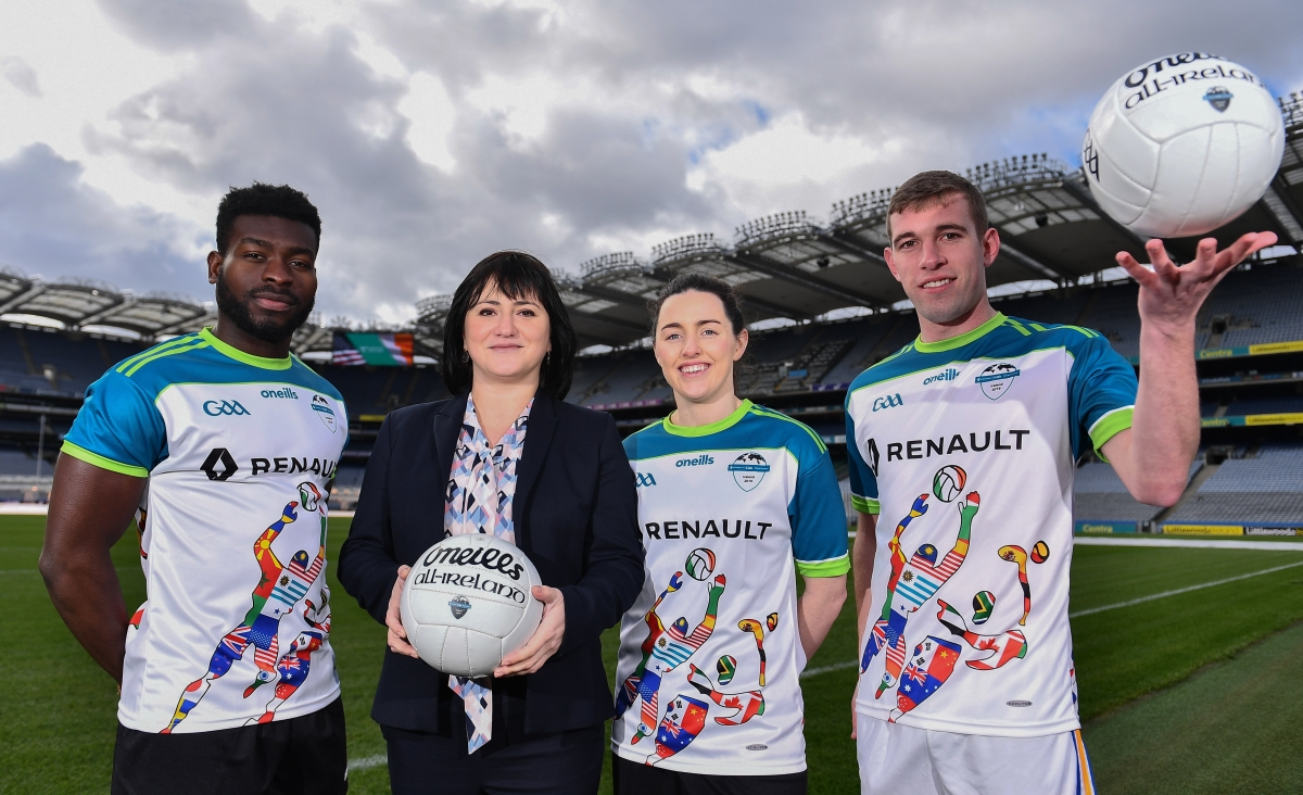 Football's Coming Home. So Is Hurling and Camogie for World Games
