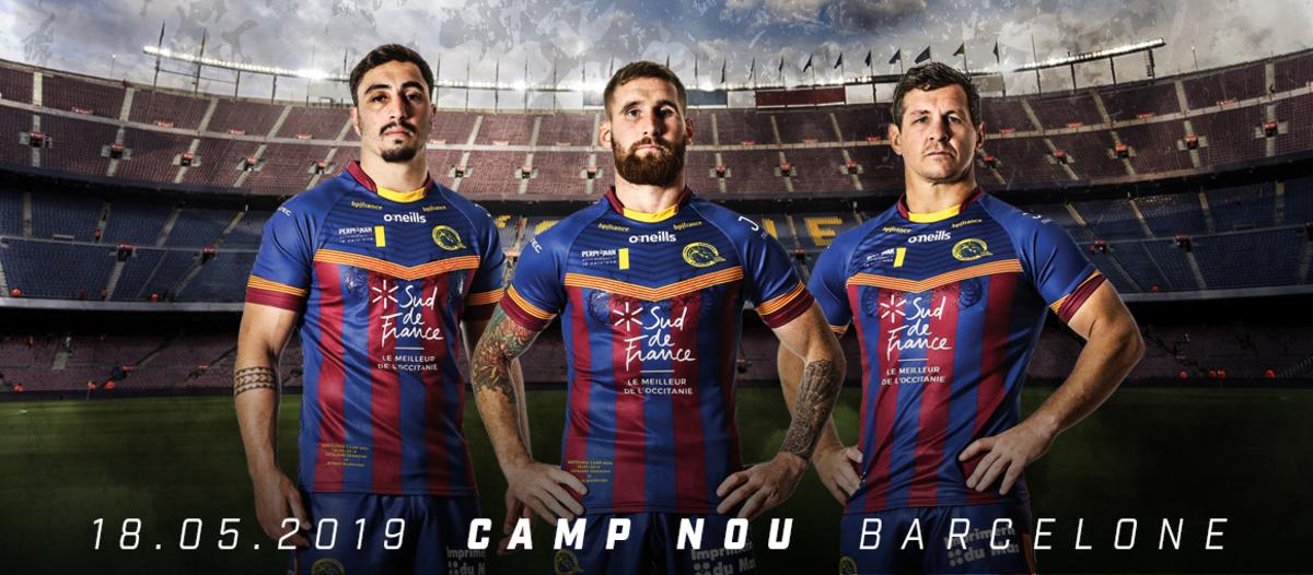 O'Neills Catalans Jersey Camp Nou Debut