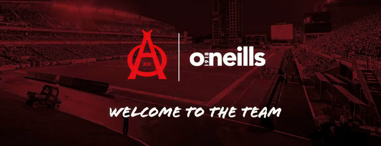 O'Neills 'Aces' it with new Canadian rugby team partnership