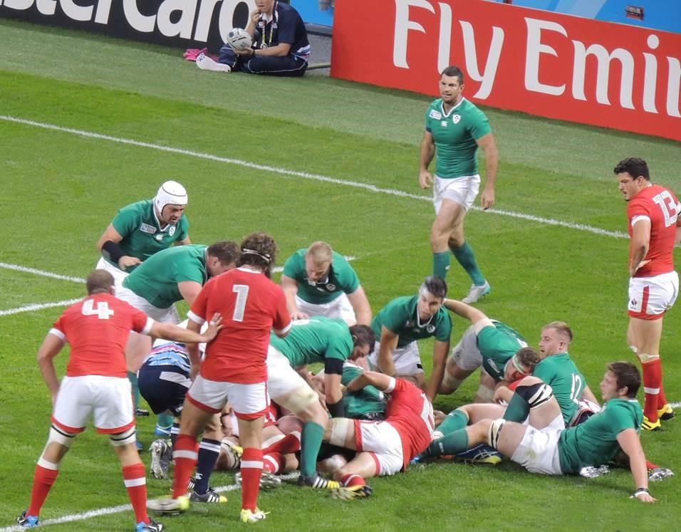 Ireland take on the world