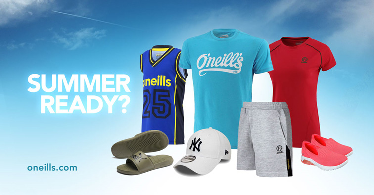 Get the trend of the Summer with O'Neills
