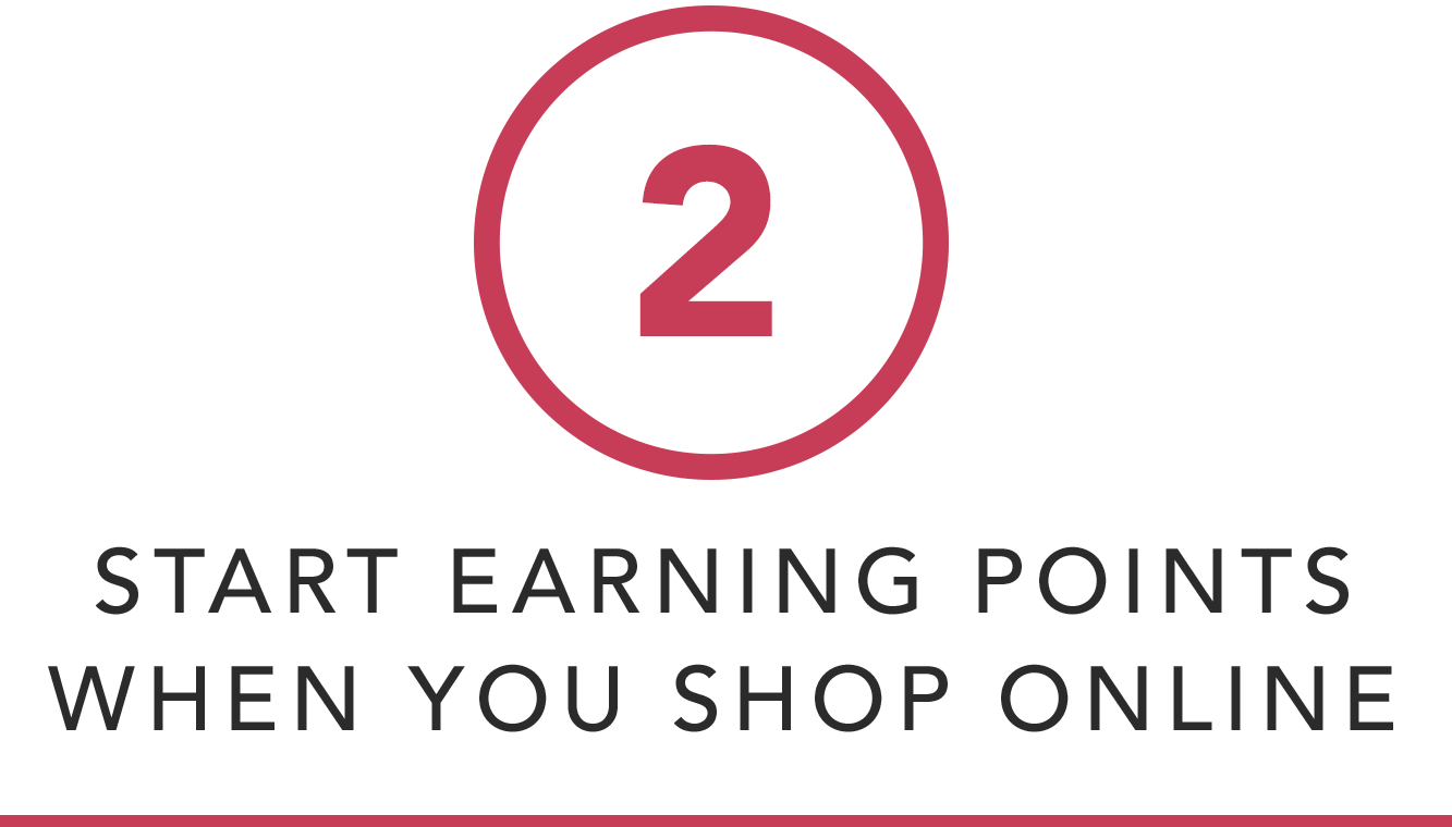 Start Earning Points