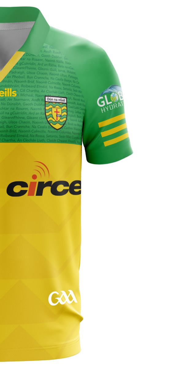 Front face image of your jersey